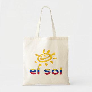 Solenoides del EL - The Sun en vacaciones de veran Bolsa Tela Barata
