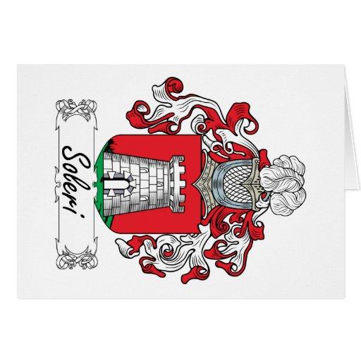 Soleri Family Crest Card