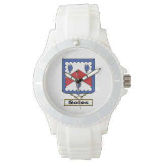 Soles Family Crest Wrist Watches