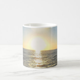 Soles ponientes taza de café