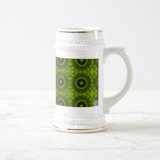 Soles verdes tazas de café