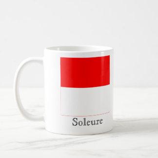 Soleure, banderas de Suisse Drapeau Taza