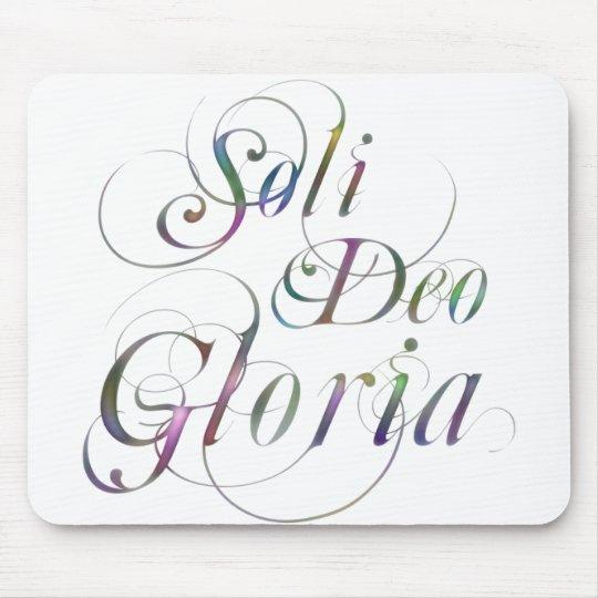 Soli Deo Gloria Mouse Pad