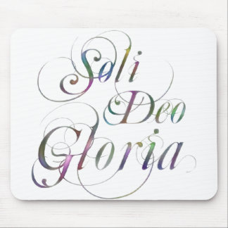 Soli Deo Gloria Mouse Pads