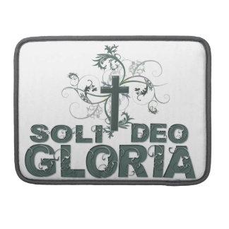 Soli Deo Gloria Sleeve For MacBook Pro