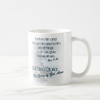 Soli Deo Gloria/The Glory of God Alone Coffee Mug