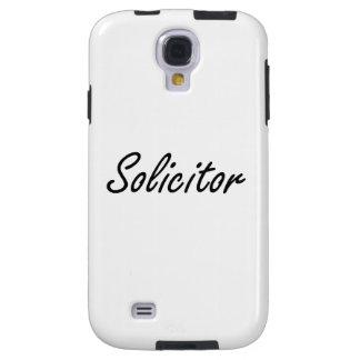 Solicitor Artistic Job Design Galaxy S4 Case