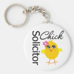 Solicitor Chick Key Chains