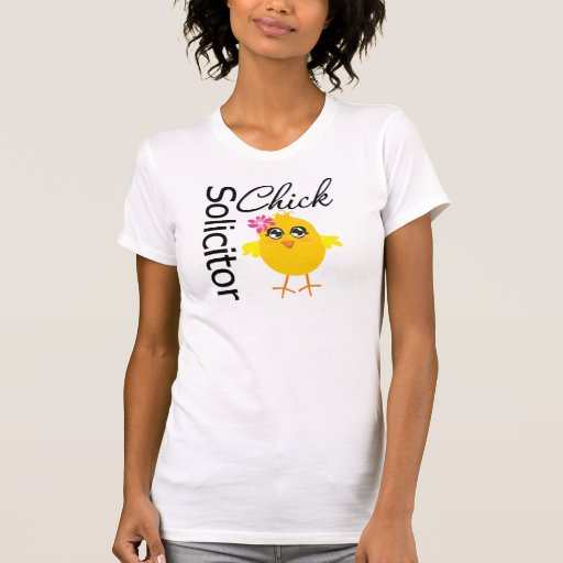 Solicitor Chick Tee Shirts
