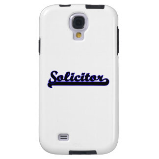 Solicitor Classic Job Design Galaxy S4 Case