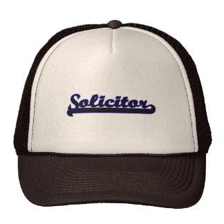 Solicitor Classic Job Design Trucker Hat