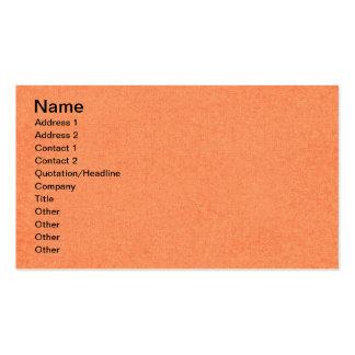 solid03 LIGHT ORANGE PEACH SOLID COLOR DIGITAL WAL Business Card