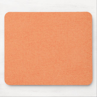 solid03 LIGHT ORANGE PEACH SOLID COLOR DIGITAL WAL Mouse Pad