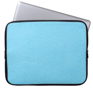 SOLID07 COTTONCANDY BLUE BRIGHT HAPPY SUMMER SKY C COMPUTER SLEEVE