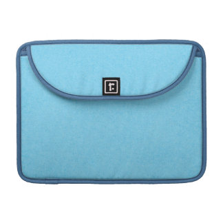 SOLID07 COTTONCANDY BLUE BRIGHT HAPPY SUMMER SKY C MacBook PRO SLEEVES