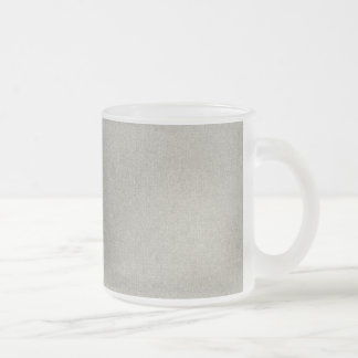 solid10 STEEL SOLID LIGHT GREY GRAY TEXTURE TEMPLA Frosted Glass Coffee Mug