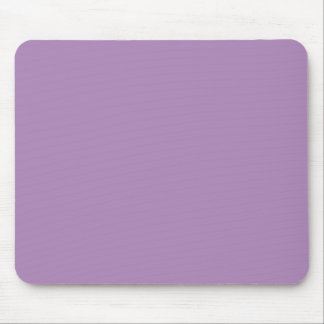 Solid African Violet Purple Mouse Pad
