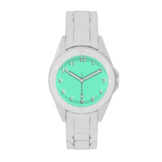 Solid Aquamarine Watches