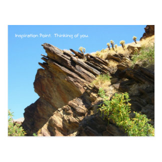 Solid as a rock_Inspiration Point. Thinking of You Postcard