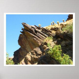 Solid as a rock San Jacinto Andreas Canyon Print