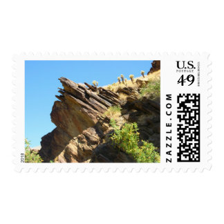 Solid as a rock San Jacinto mountains Postage Stamp