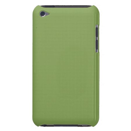 Solid Asparagus Green iPod Touch Covers