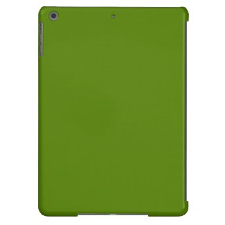 Solid Avocado Green Cover For iPad Air