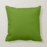 Solid Avocado Green Pillow