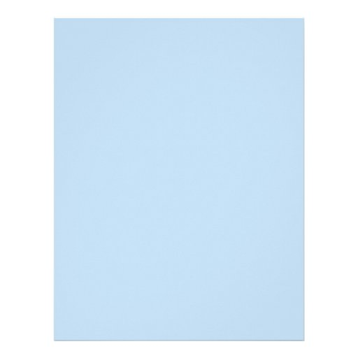 baby letterhead paper solid blue baby shower scrapbook paper letterhead zazzle baby letterhead paper