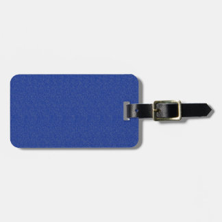 Solid Blue Glimmer Luggage Tag