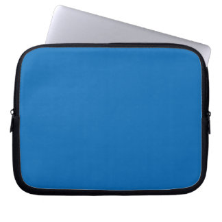Solid Blue Laptop Computer Sleeves