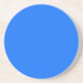 solid blue solid background solid color drink coaster