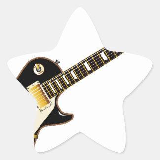 Solid Blues Star Sticker