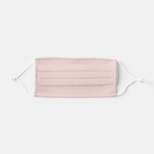 Solid Blush Pink Color Cloth Face Mask