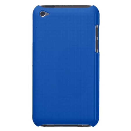 Solid Bright Cobalt Blue Barely There iPod Covers