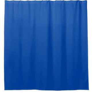 solid blue shower curtains | zazzle