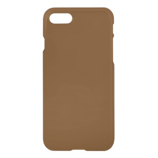 Solid Brown iPhone 7 Case