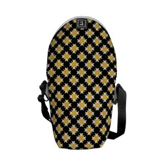Solid Circle Cross Messenger Bag