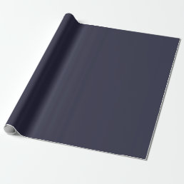 Solid Classic Blue Wrapping Paper / Gift Wrap