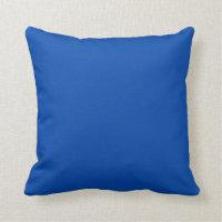 Solid Cobalt Blue Design Pillows