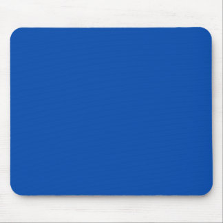 Solid Cobalt Blue Mouse Pads