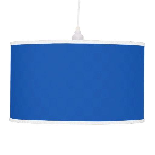 solid cobalt blue pendant light pendant lamp zazzle. Black Bedroom Furniture Sets. Home Design Ideas