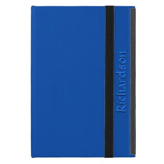 Solid Cobalt Blue Personalized Cases For iPad Mini