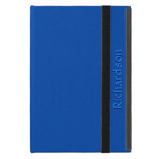 Solid Cobalt Blue Personalized iPad Mini Case