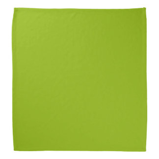 Solid Color: Apple Green Bandana