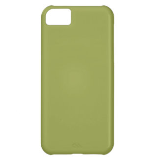 Solid Color: Avocado Green Cover For iPhone 5C