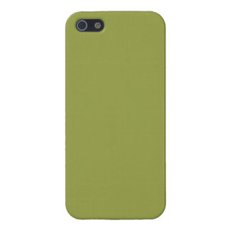 Solid Color: Avocado Green iPhone 5 Cases