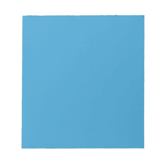 Solid Color Background Blue 3399CC Template Notepad