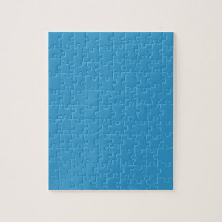 Solid Color Background Blue 3399CC Template Puzzles