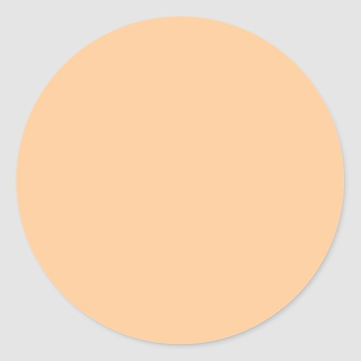 Solid Color Background Template Classic Round Sticker